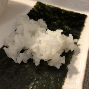 「オコメノカミサマ」銀シャリと海苔