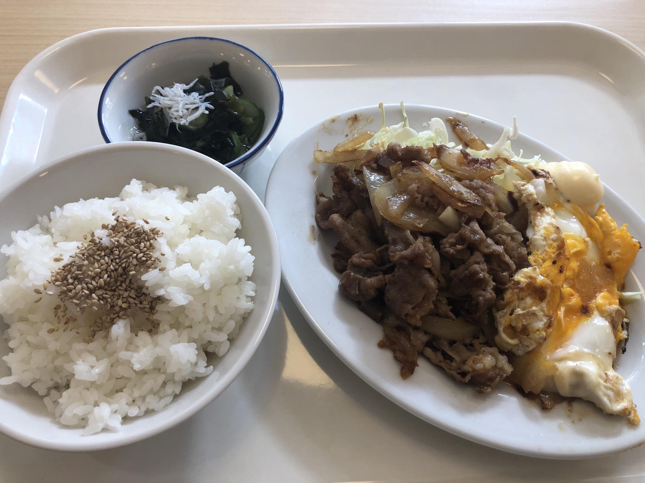 「野田食堂」定食
