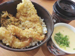 くら寿司ランチ えび天と季節の天丼